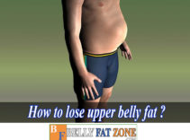 How To Lose Upper Belly Fat At Home?