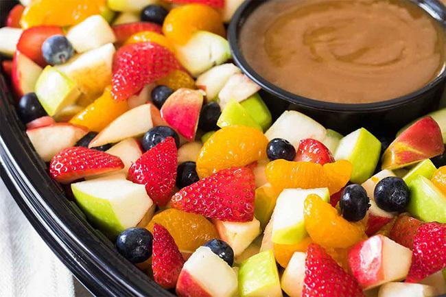 The fruit is something you should focus on every meal