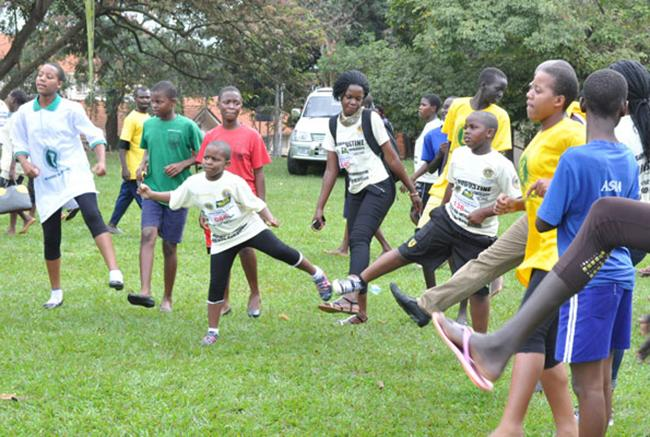 Want to reduce belly fat and healthy children need exercise