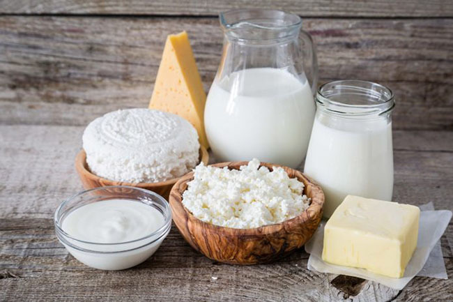 Select dairy products