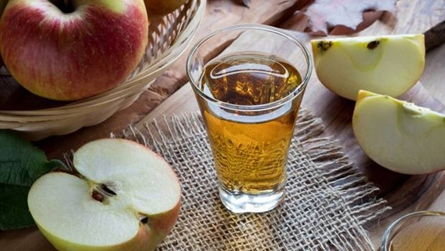 What is the effect of apple cider vinegar for reducing belly fat?