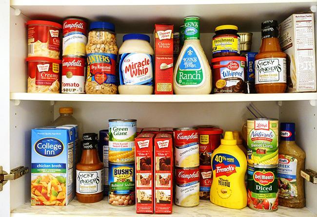 Limit processed foods