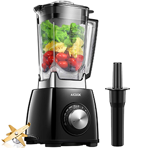 Aicook Professional Blender 4 Programs– Best Blender for Hot and Cold Food