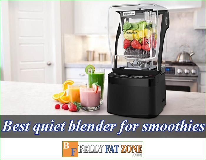 Top 8 Best Quiet Blender For Smoothies in The Market 2021