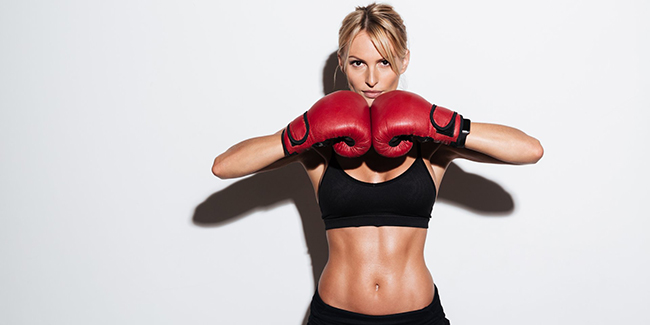 HIIT Cardio Kickboxing exercise 20 minutes