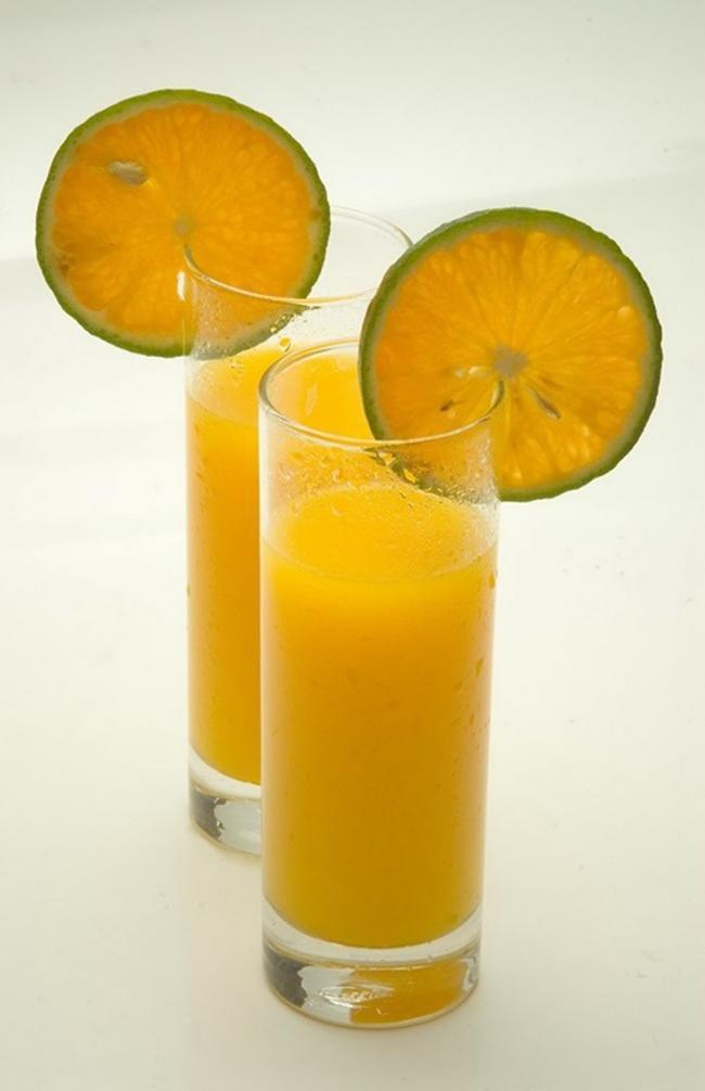 Lemon-orange smoothie