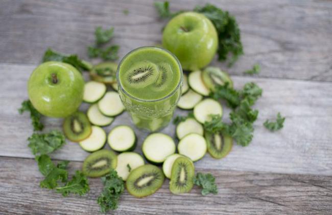 Kiwi, Zucchini, and Apple