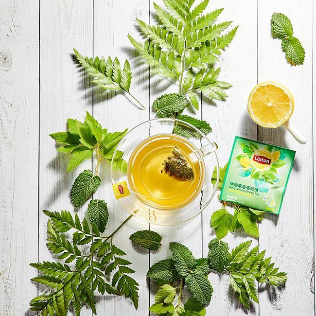 Lemon green tea lose weight