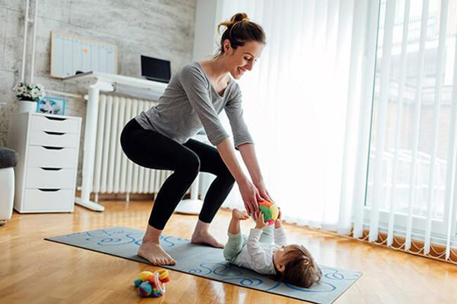 Does exercise reduce postpartum belly fat
