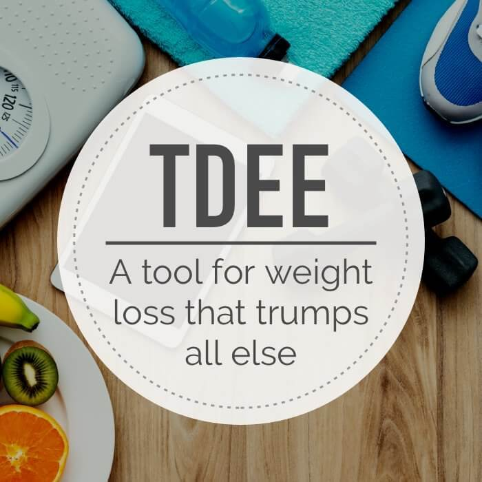 What is the definition of TDEE?