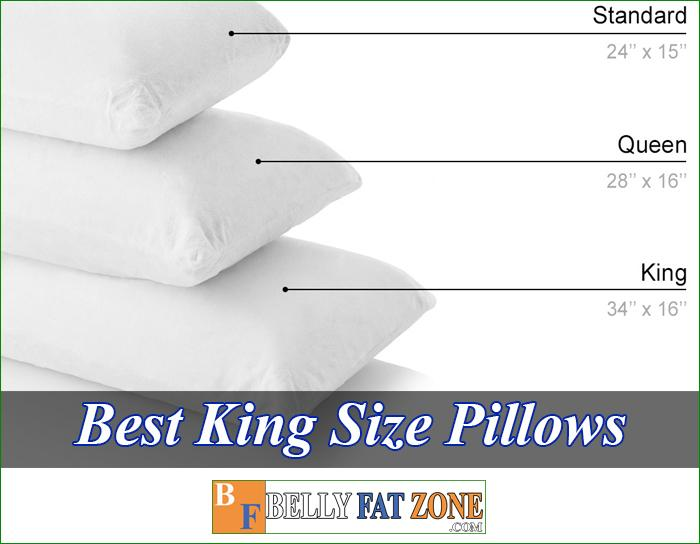 Top 15 Best King Size Pillows 2021 For Comfortable Sleep Everywhere