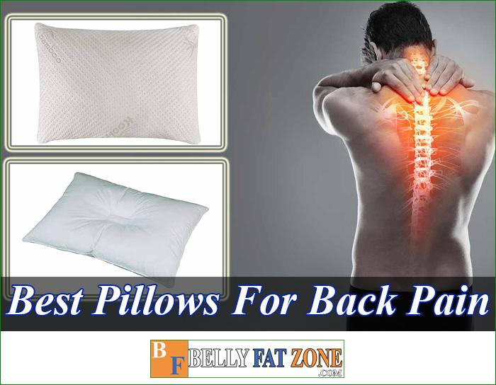 Top 15 Best Pillows For Back Pain 2021 - Really Helps You Feel Comfortable The Next Morning