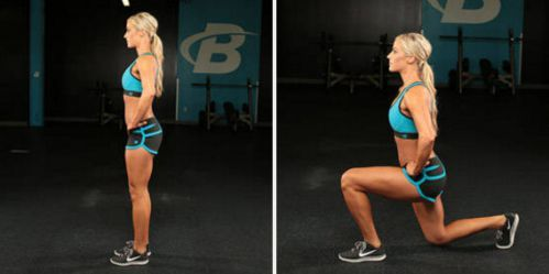 Reverse Lunge With Jump