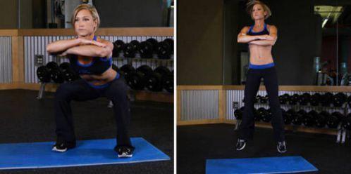 Wide Stance Jump Squat