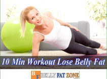 10 Min Workout to Lose Belly Fat Absolutely Possible