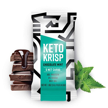 Keto Krisp High Protein Snack Bar