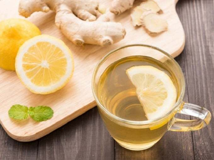 How to make ginger tea lose weight with green tea