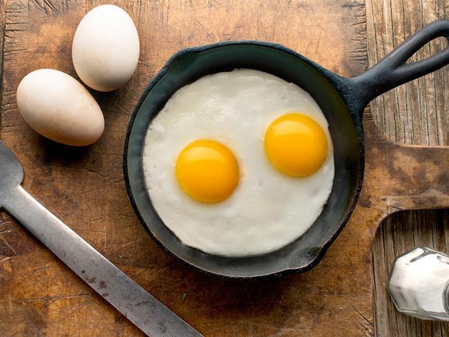 Eggs have no sugar