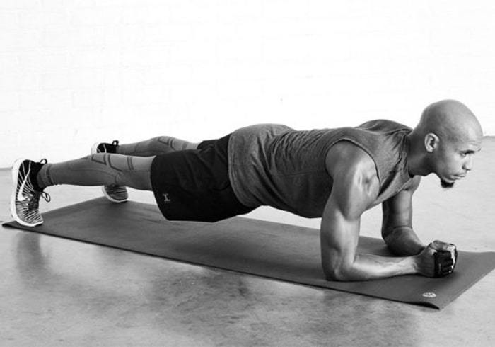 Exercise to reduce belly fat Plank