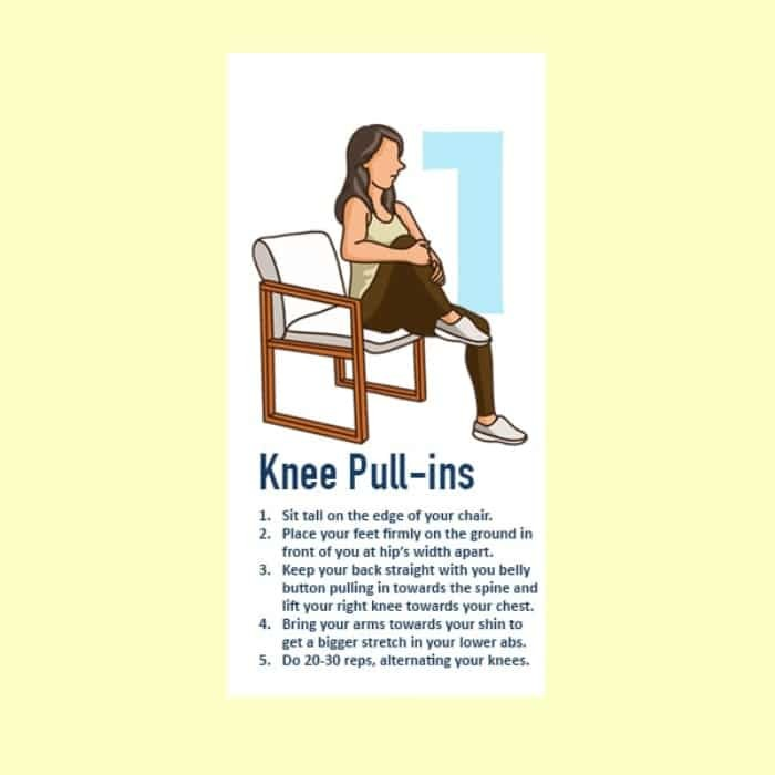 Knee Pull-ins exercise