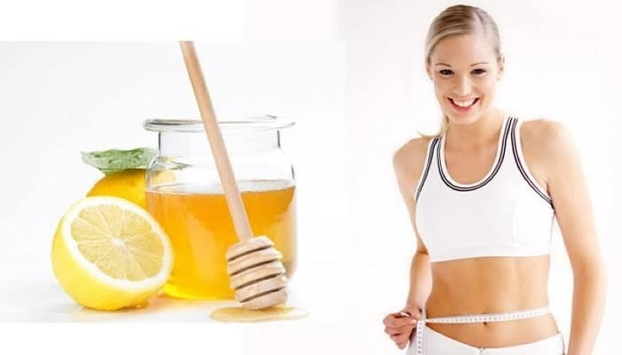 Reduce the upper belly fat from honey