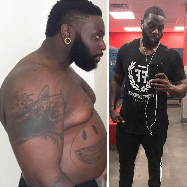 This man gained and lost 30kg to motivate his practitioner