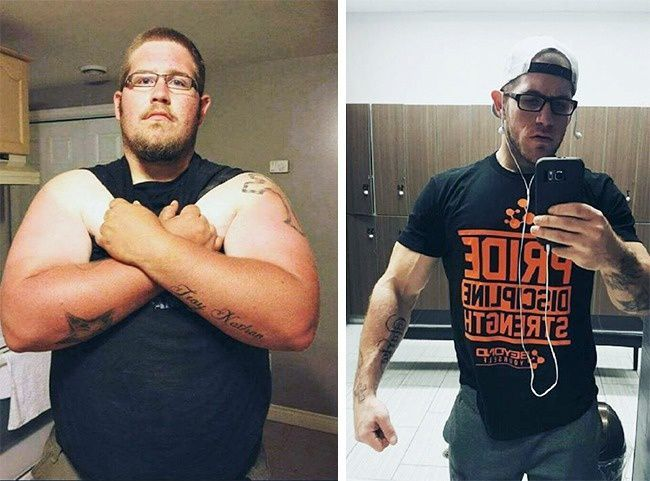 He was in a state of emergency due to being overweight, but he managed it and lost 83kg.