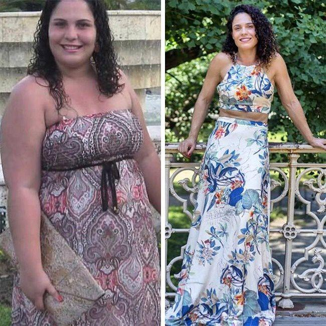 "This woman has escaped the ""addiction"" of Chocolate and lost 52kg"