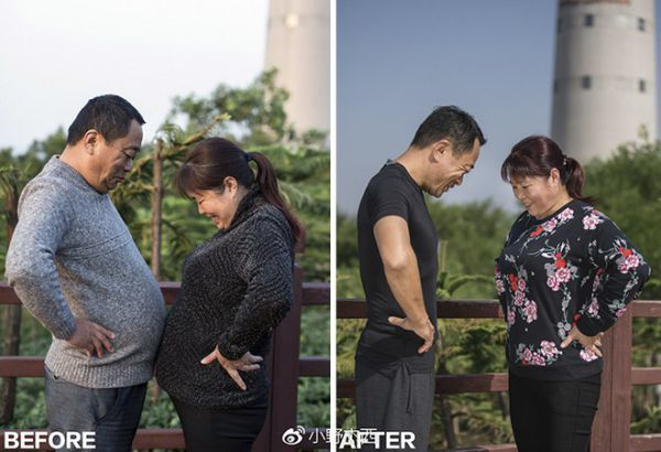 The Family has Abdominal Fat After 6 Months of Exercise
