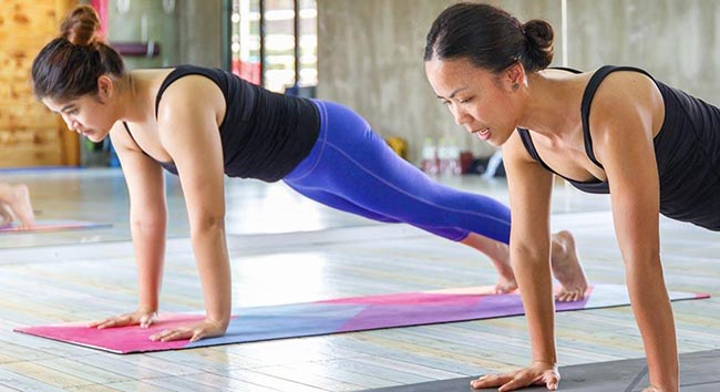 5 Unexpected benefits from Hot Yoga