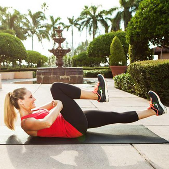 This is a Pilates exercise that has a double effect on reducing belly fat and hips