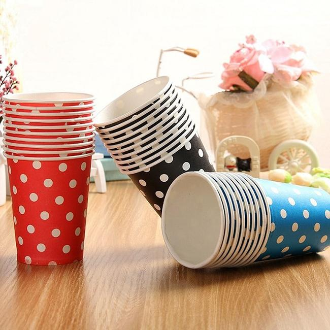 Method of 3 paper cups