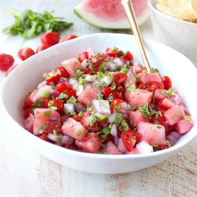 Watermelon weight loss menu