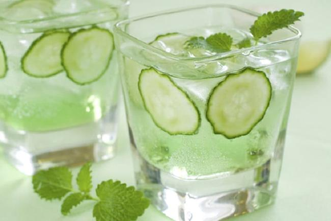 The classic cucumber detox water