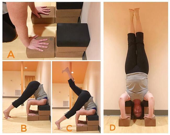 Support for standing postures