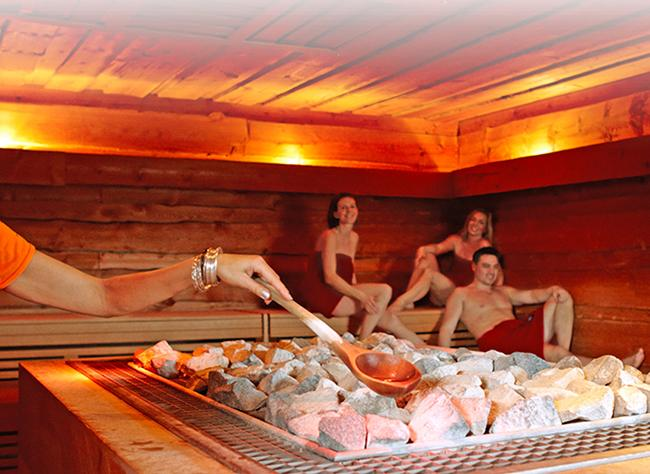 What is a dry sauna?