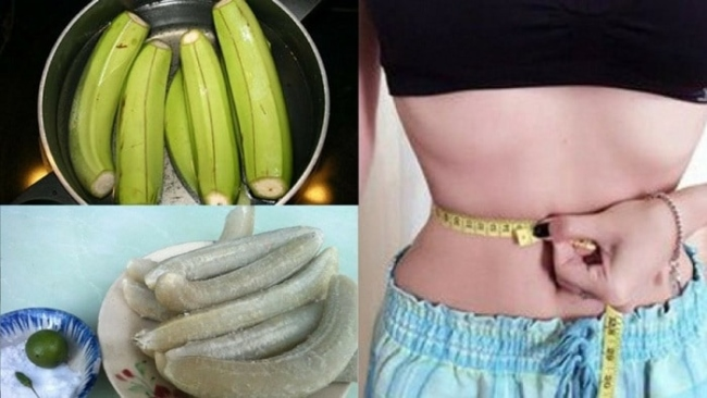 Eat boiled green bananas lose weight