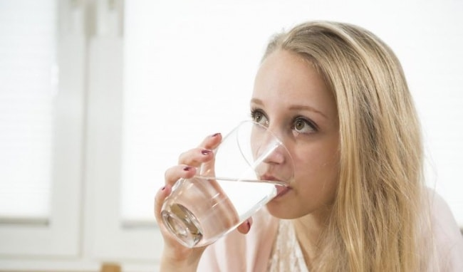 Drinking water helps to purify the body, toxins