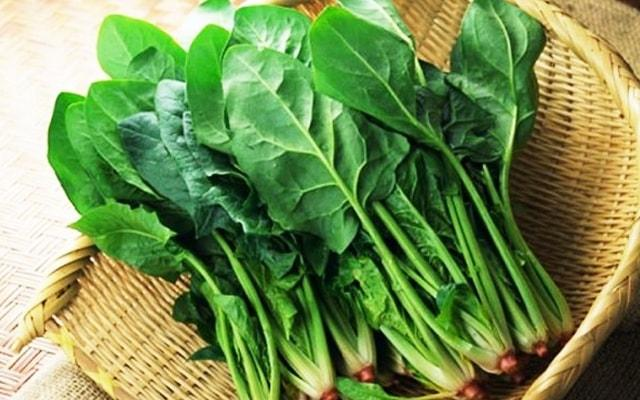 Spinach thigh slimming effect