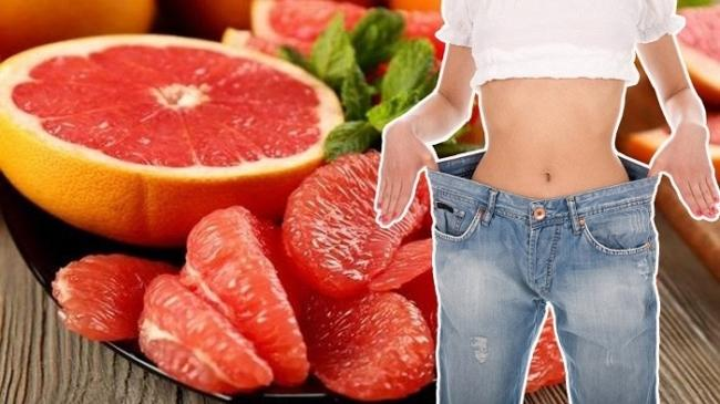 Eating grapefruit weight loss