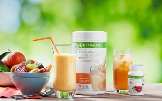 Herbalife weight loss menu with you can refer.