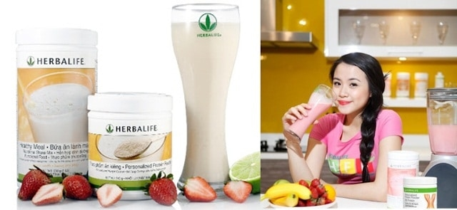 Milk Herbalife's weight loss is more effective if you apply the appropriate menu.