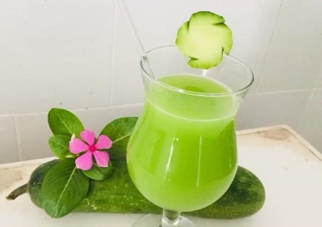 Squash juice.