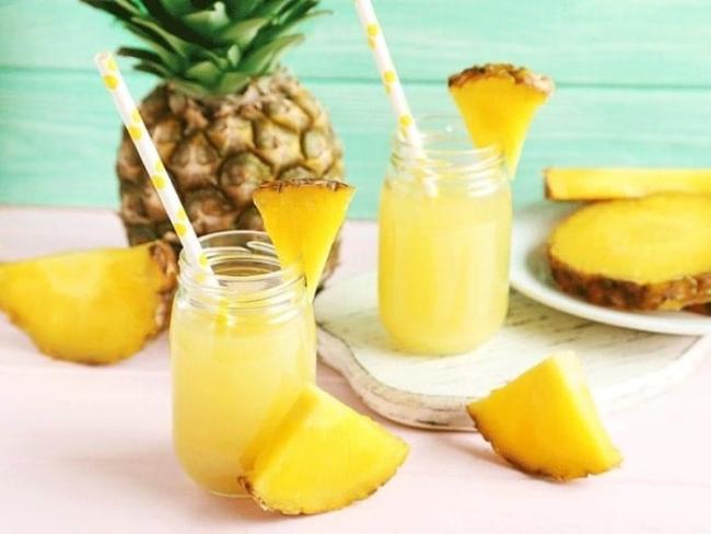 Pineapple juice.
