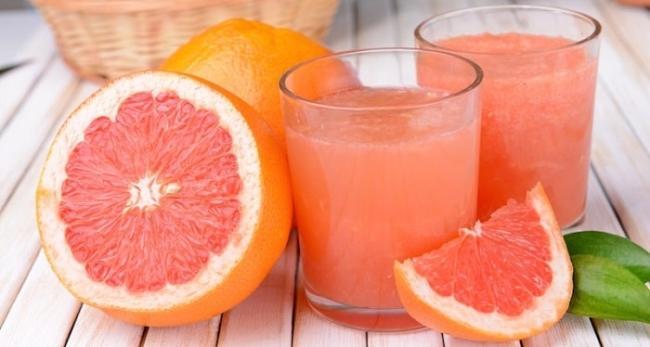 Grapefruit juice.