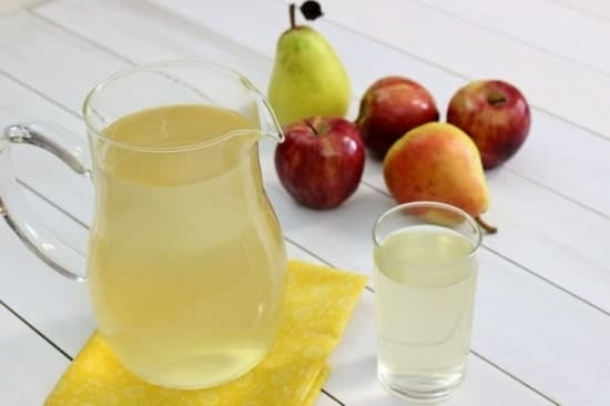 Juice apples and pears.