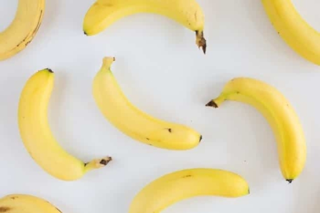 Calories in bananas may vary depending on their size