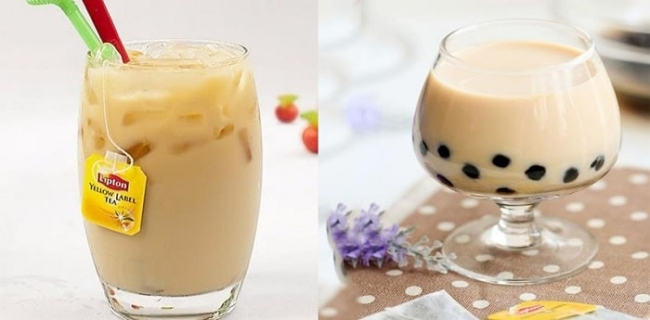 Do not drink too much milk tea