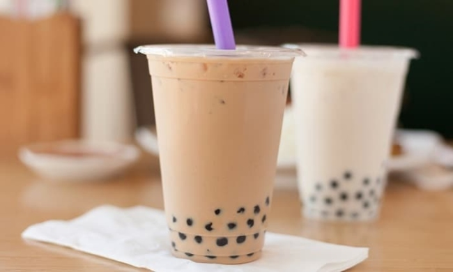 How many calories in 1 cup of milk tea