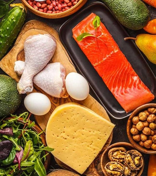 Protein-rich foods good for health and to help you gain weight.